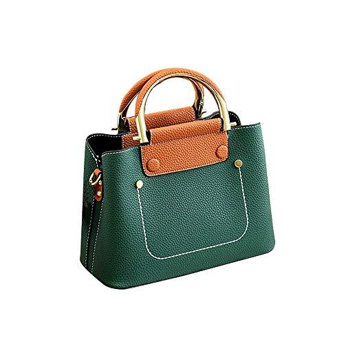 Bfmyxgs Fashion Bag für Frauen Mädchen Big Bag einfach komfortabel Stoff Schulter Messenger Tasche Handtasche Rucksack Schultertasche Handtasche Totes Münze Tasche Taille Beutelpackung Brust