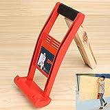 Espeedy Elevador de herramientas,Panel Carrier Gripper Handle Carry Drywall Plywood Sheet ABS 80KG Herramienta de carga