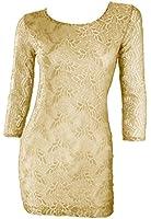 #1183 Damen Designer Spitzenkleid Etuikleid Abendkleid Cocktailkleid Einheitsgrösse 34 36 38