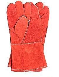 Guantes de soldadura Resistencia a alta temperatura Soldador resistente al desgaste Anti-calor Protección laboral