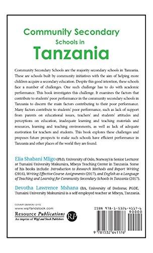 Community Secondary Schools in Tanzania