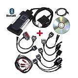 OurLeeme Bluetooth Tcs CDP Pro Plus Diagnose Scanner für Autocom OBD2Diagnostic Werkzeug 8Auto Kabel