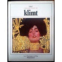 Tout l'oeuvre peint de Klimt
