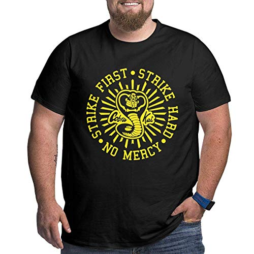 SASJOD Herren Kurzarmhemd Fear The Beer Big and Tall T-Shirt Men's Plus Size T Shirts Best Gift for Father Grandfather Tops Tee