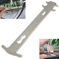 OUTERDO Chain Checker Indicateur d'Usure de Chaîne Indicateur Outil Carter à Bicycle Cyclisme Vélo