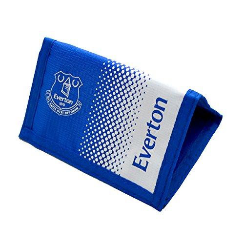 Fußball-Geldbörse, offizielles Merchandise, Klettverschluss (verschiedene Vereine zur Auswahl) Everton FC