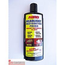 Pulimento para restauración faros / ópticas Abro 237 ml.