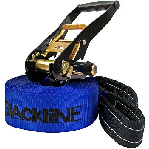 "Alpidex Slackline-Set ""I ❤ Slackline"", 10 m lang, 5 cm breit"