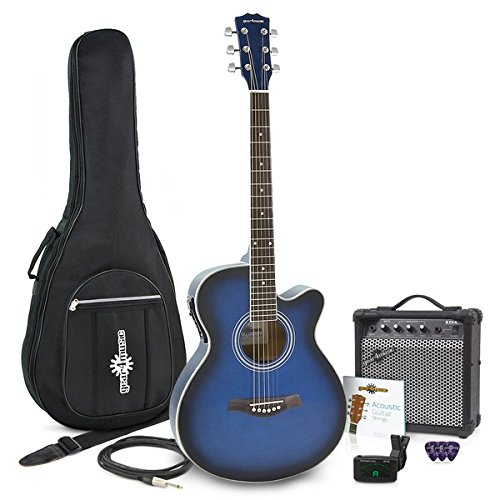 Guitarra Electroacústica Single Cutaway + Pack de