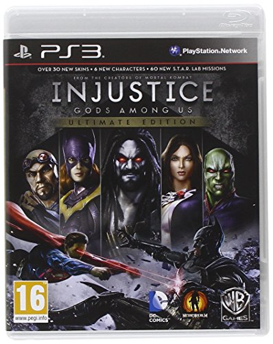 Warner Bros Injustice: Gods Among Us Ultimate Edition PlayStation 3 Inglés vídeo - Juego (PlayStation 3, Lucha, T (Teen), Inglés, 29/11/2013, Soporte físico)