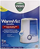 Best Humidifiers - Vicks Warm Mist Humidifier (1 Gallon) White/blue Review