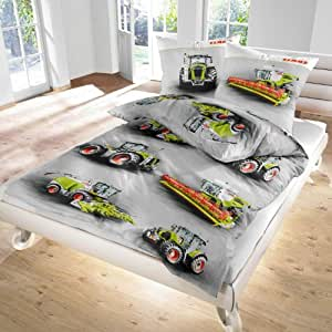 Moissonneuses batteuses traktor parure de lit en flanelle for Housse de couette 90x200