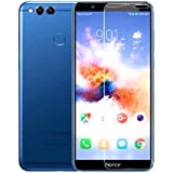 Superdealsfortheinfinity Honor 7X, LR Tempered Glass, Premium Real 2.5D 9H Anti-Fingerprints & Hardness Screen Protector Guard for Honor 7X QC Pass 09