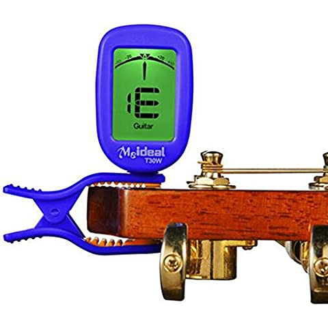 Classic Meideal T30W sintonizador Folk eléctrica acústica Quick Change Trigger guitarra Capo clave abrazadera