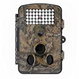 Blupow 12 MP 1080P HD Jagd Kamera mit 120 ° Weitwinkel PIR Wasserdicht, IR-LED Trail Camera Digital Wildlife Kamera