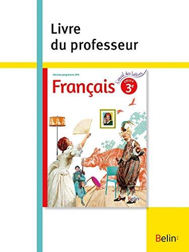 Francais 3e : Livre du professeur par Collectif