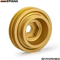 epman–Racing Leichtes Aluminium Kurbelwelle Riemenscheibe für Honda Civic SI Integra B-Serie 99–00ep-pycp011b16