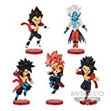 Gamesland Dragon Ball Heroes - Figurine WCF Vol 3 - Son Goky Xeno SS4 - 7cm