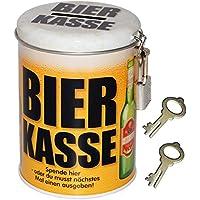 alles-meine.de GmbH Spardose - Bier Kasse - mit 2 Schlüssel und Schloss - Stabile Sparbüchse a.. preisvergleich bei kinderzimmerdekopreise.eu