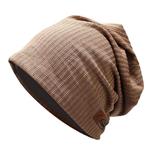➤Refill➤Strickmützen für Herren & Damen, Unisex Mütze Wintermütze Baumwolle Mütze Strickmützen Slouch Beanie Schädel Cap Winter Sommer Hüte