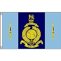 AZ FLAG Bandera de los Reales Marines DE Reino Unido Comando 40 150x90cm - Bandera Royal