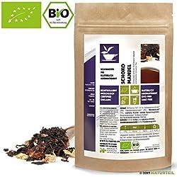 NATÜRLICH TEE - SCHWARZER TEE SCHOKO MANDEL BIO / Natürlich Aromatisiert, Naturally Flavored Black Tea Organic - 100G