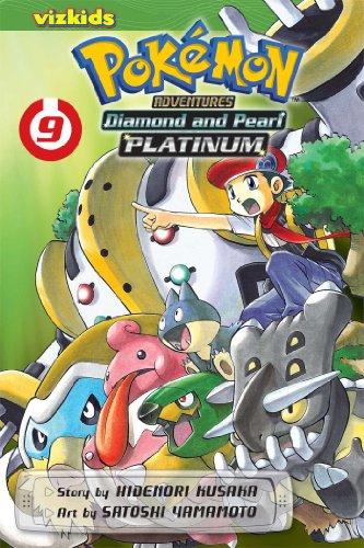 Diamond and Pearl Platinum. Volume 9