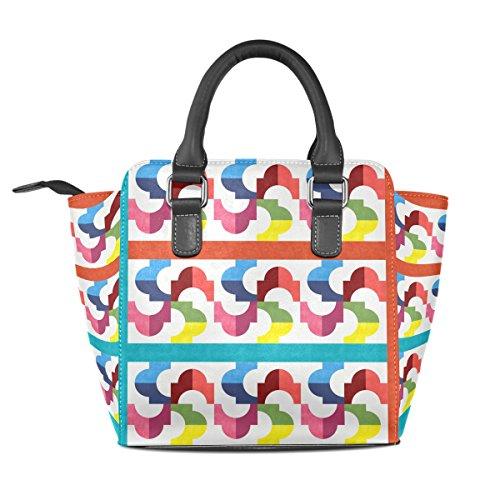 COOSUN, Borsa a mano donna multicolore Multicolour M Multicolor#4