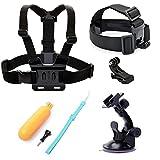 Sports Et Plein Air Best Deals - SHOOT 4-en -1 Kit d'accessoires sports de plein air pour Gopro 5/4/3+/3 SJ4000 SJ5000 SJ6000 caméra de sports