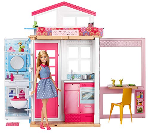 Barbie Mobilier coffret maison 2...