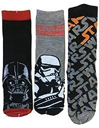 Star Wars infantil calcetines Pack de 3