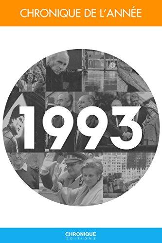 Chronique de l'année 1993
