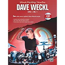 Ultimate Play-Along Drums Lev.1/1 +CD --- Percussions - Weckl, Dave --- Alfred Publishing