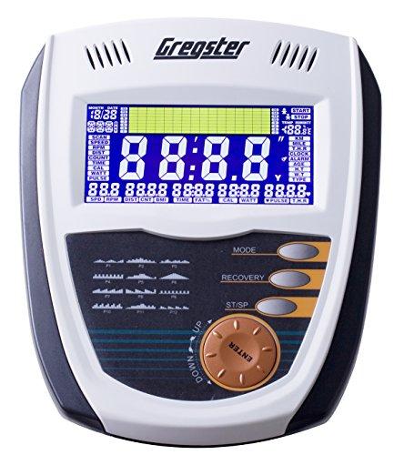 Gregster Crosstrainer Ergometer Heimtrainer, Ausdauertraining für zuhause, Ellipsentrainer mit Benutzergewicht bis zu 130 kg - 3