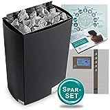 Mega-SET> Saunaofen Iron II, Steine + EOS D2 Steuerung 6,0 kW + POOL Total Saunabroschüre