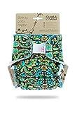 Petit Lulu Pannolino Mutandina Bambù Maxi Fitted Notte | Hook & Loop | Pannolini di stoffa | Riutilizzabile e lavabile | | Pannolini lavabili | Prodotto in Europa (Ornaments)