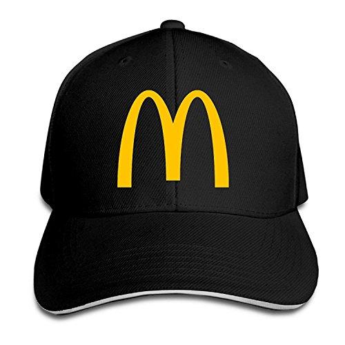 56192b4940e Unisex Mcdonalds Logo Adjustable Snapback Baseball Cap RoyalBlue One Size