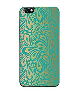 PrintVisa Designer Back Case Cover for Huawei Honor 4X :: Huawei Glory Play 4X (Flowers Leaves Petals Buds Flowery)