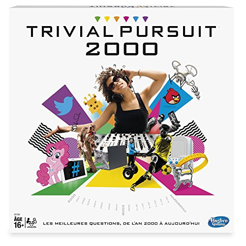 Hasbro B7388 - Jeu de Société - Trivial Pursuit 2000
