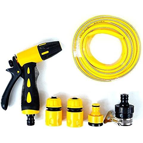 Spray Nozzle portatile ad alta pressione mano espandibile 30,5m 33piedi tubo ergonomico Trigger lavaggio auto acqua spruzzatore tubo ugello kit per giardino/Auto