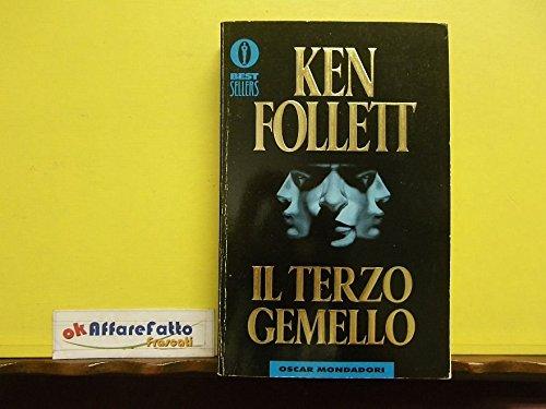 L 4.540 LIBRO IL TERZO GEMELLO DI KEN FOLLETT 1998