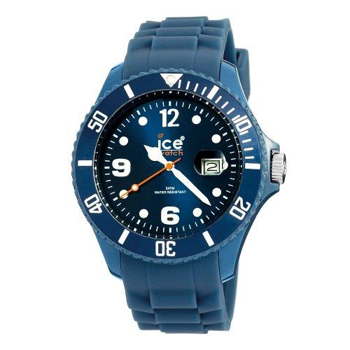 Ice-Watch SIDBBS09 - Orologio da polso unisex, cinturino in silicone colore blu