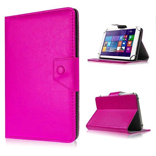 UC-Express Tasche für Odys Lux 10 Hülle Case Schutz Tablet Cover Schutzhülle Universal Bag, Farben:Pink
