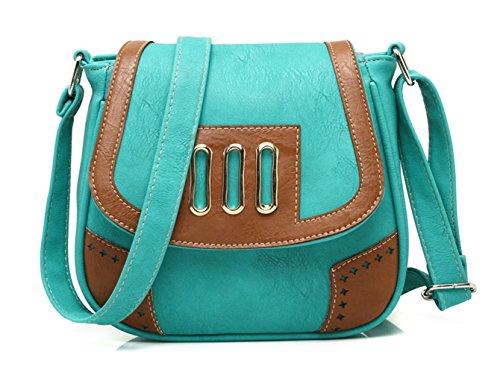 Keshi Cool Damen Handtaschen, Hobo-Bags, Schultertaschen, Beutel, Beuteltaschen, Trend-Bags, Velours, Veloursleder, Wildleder, Tasche Grün 1
