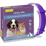 Collare Calmante per Cani e Gatti,Collare Anti-ansia Con Dimensioni Regolabili,Effetto Calmante Impermeabile Sicuro Naturale