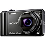 Sony DSC-HX5V Digitalkamera (10 Megapixel Exmor R, 10fach optischer Zoom, 7,6 cm, LC-Display, Full HD Video, Bildstabilisator, Sweep-Panorama, GPS) schwarz