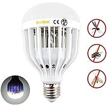Bonlux 10W E27 2-en-1 LED UV Bombilla de Luz Fría 6000k Tornillo