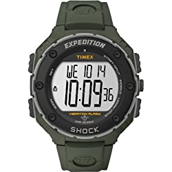 Timex Expedition Men's Watch with Digital Display and Resin Strap