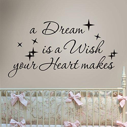 mairgwall-in-vinile-scritta-a-dream-is-a-wish-your-heart-makes-decor-adesivo-da-parete-rimovibile-pe