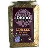Biona Organic Linseed Brown - A rich source of OMEGA 3 - 500g